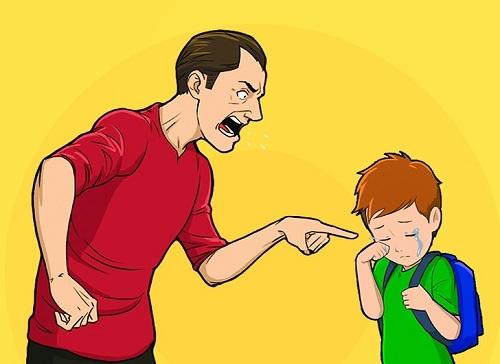 cách giáo dục con cái sai lầm