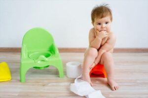 tập cho bé ngồi bô
