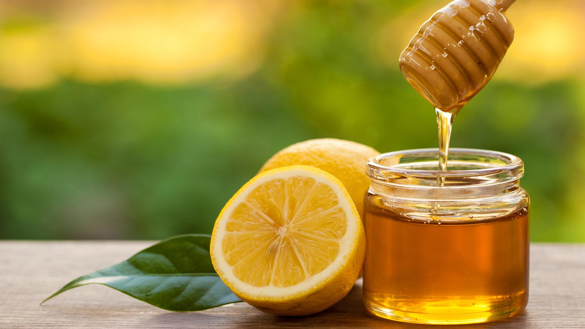 công thức pha nước chanh mật ong