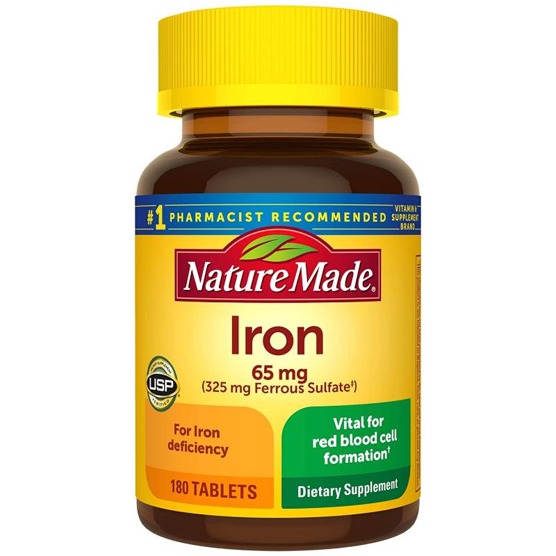 Thuốc bổ sung sắt cho bà bầu Nature Made Iron