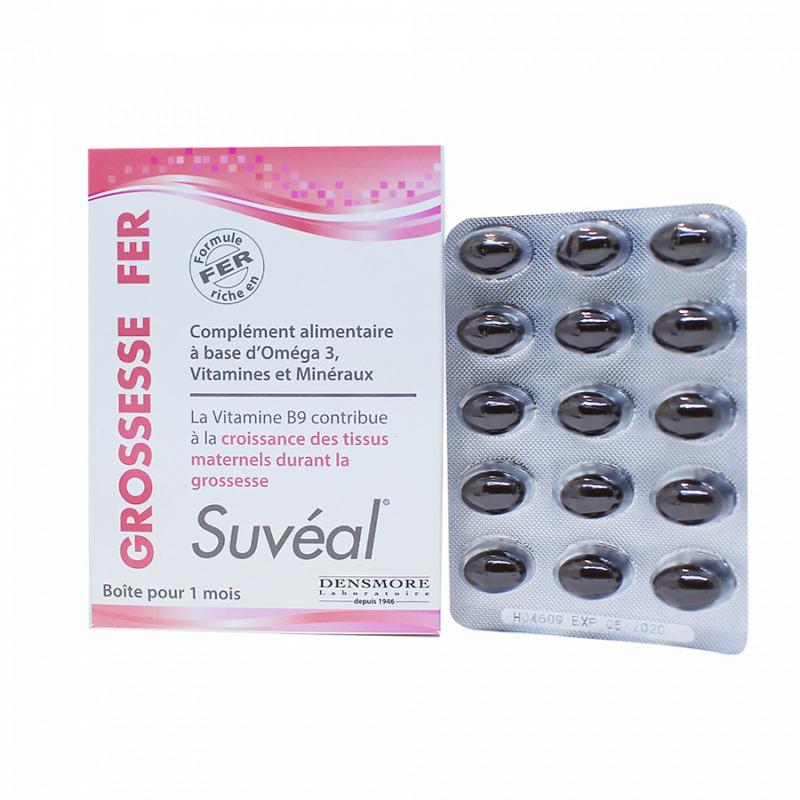 Vitamin tổng hợp cho bà bầu Suveal