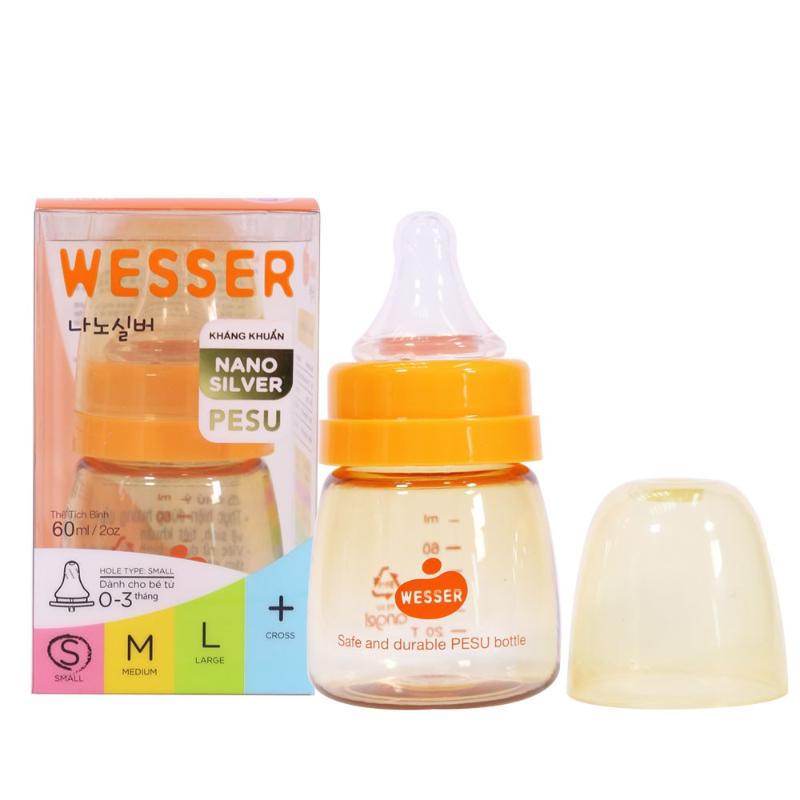Bình sữa Wesser Nano Silver