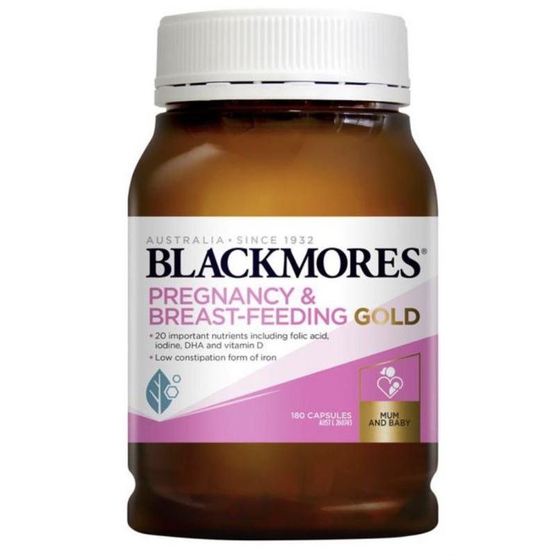 Viên uống Blackmores Pregnancy & Breast – Feeding