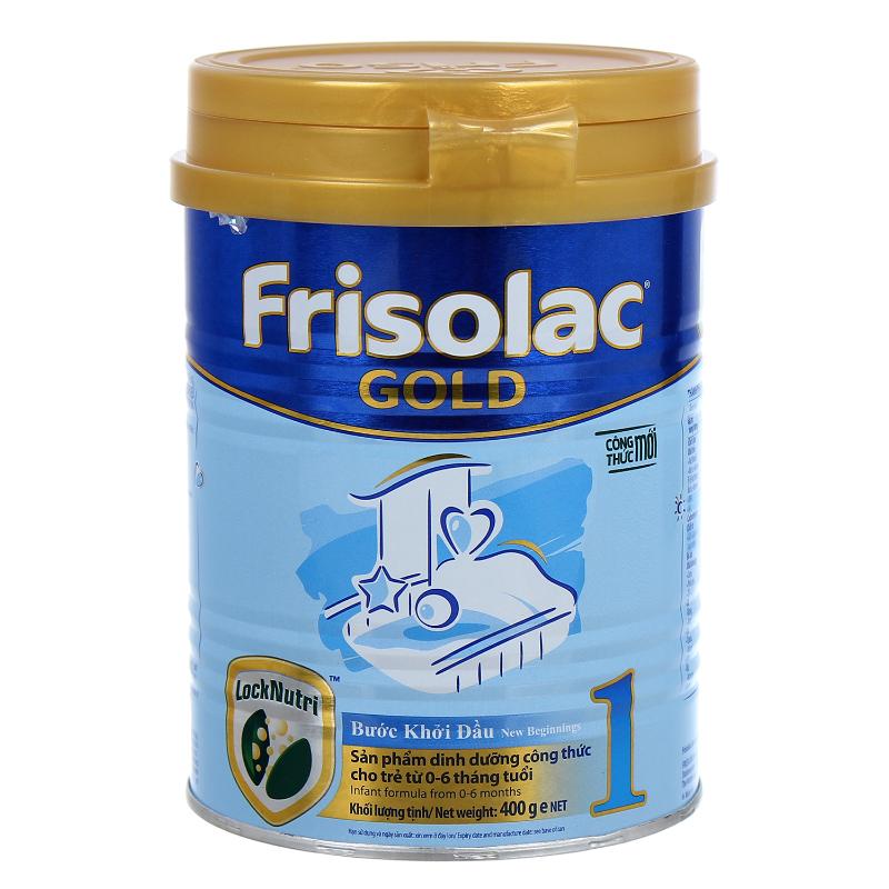 Frisolac số 1 - Sữa tốt cho trẻ sơ sinh từ 0 đến 6 tháng tuổi