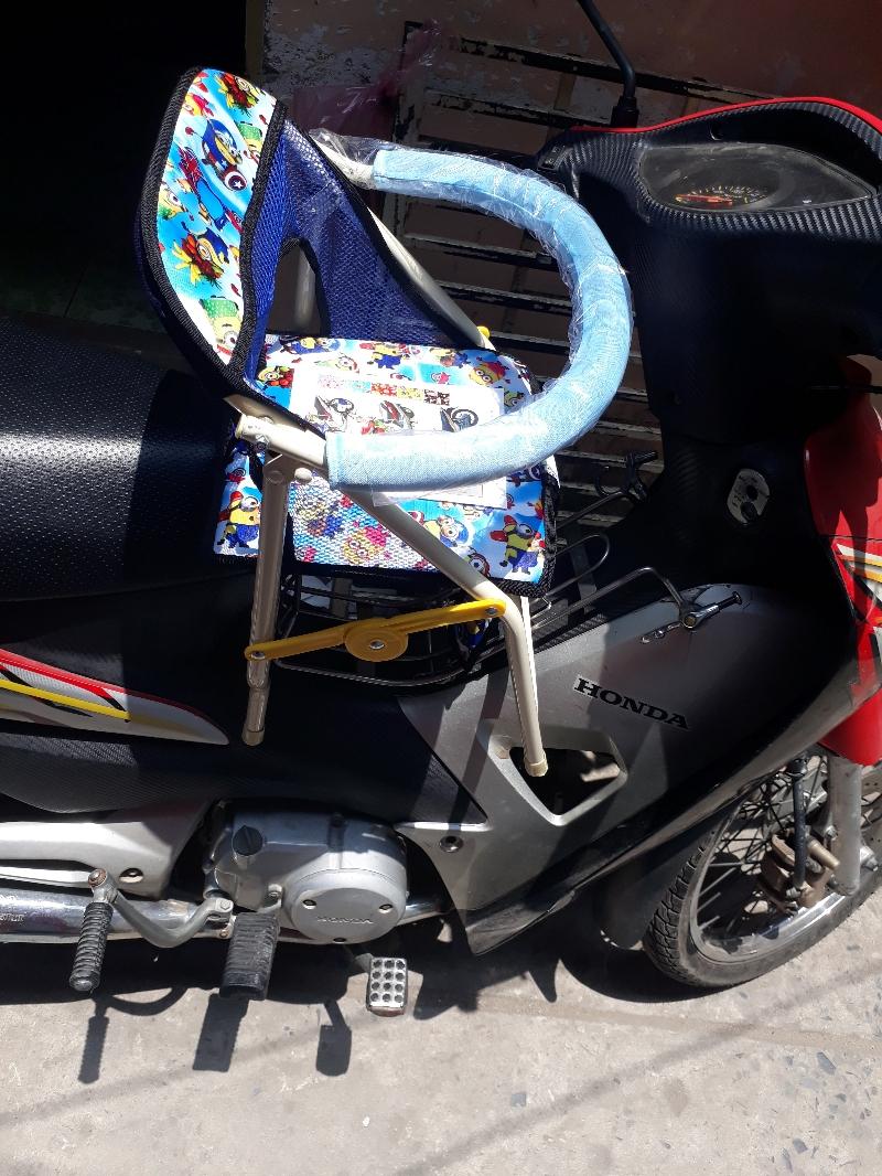 Ghế xe máy dạng xếp cho xe số