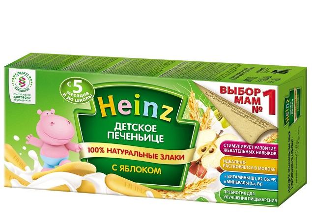 Bánh ăn dặm cho bé Heinz
