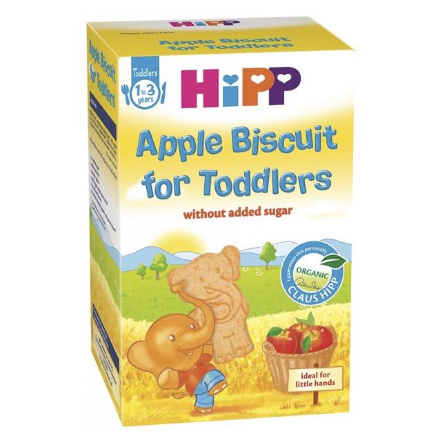 Bánh ăn dặm cho bé 6 tháng Hipp