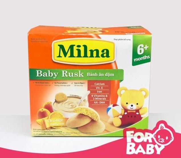 Bánh ăn dặm cho bé Milna