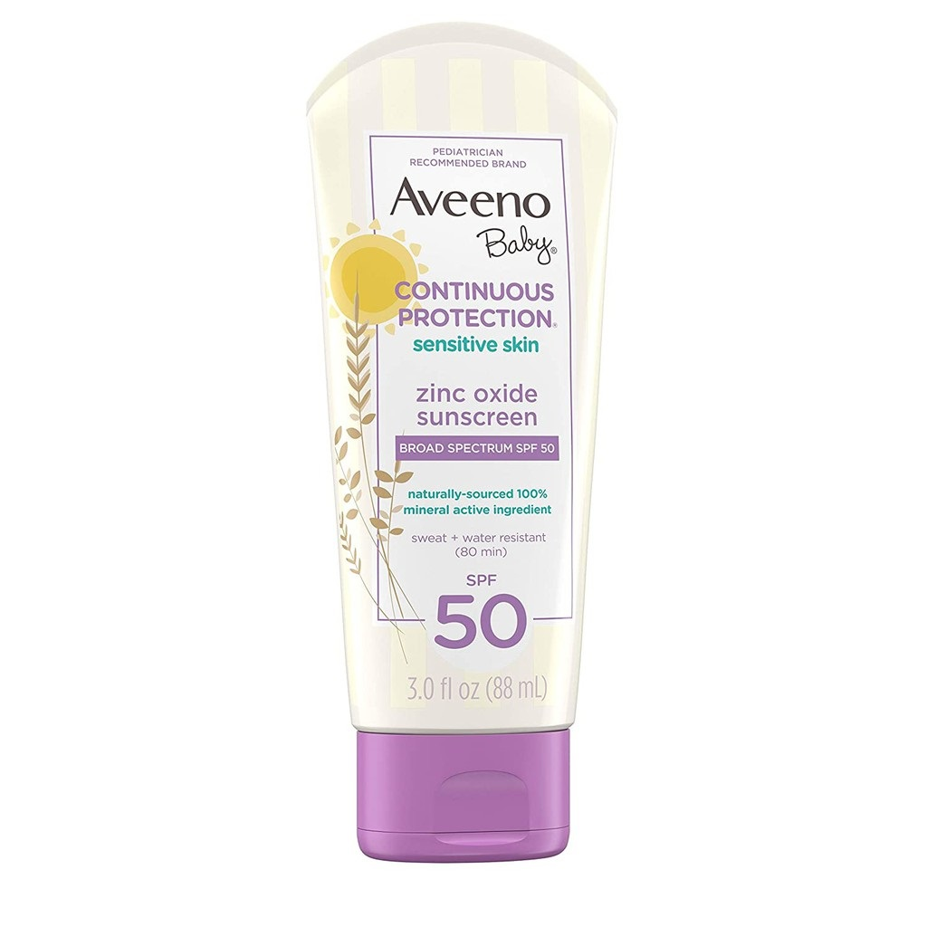 Kem chống nắng cho trẻ em Aveeno Baby Natural Protection Mineral Block Face Stick