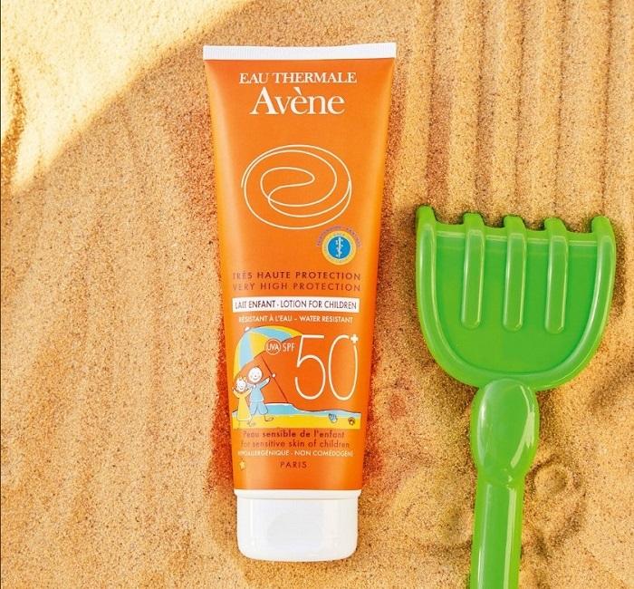 Kem chống nắng cho trẻ em Avene Lait SPF 50+ Enfant