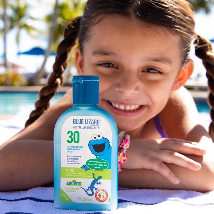 Kem chống nắng cho trẻ em Blue Lizard Baby