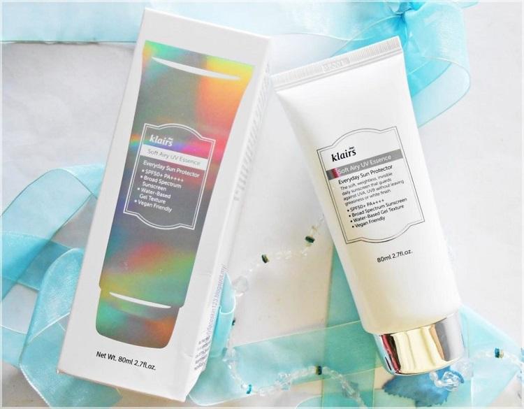 Kem chống nắng dành cho bà bầu Klairs Soft Airy UV Essence SPF50/PA++++