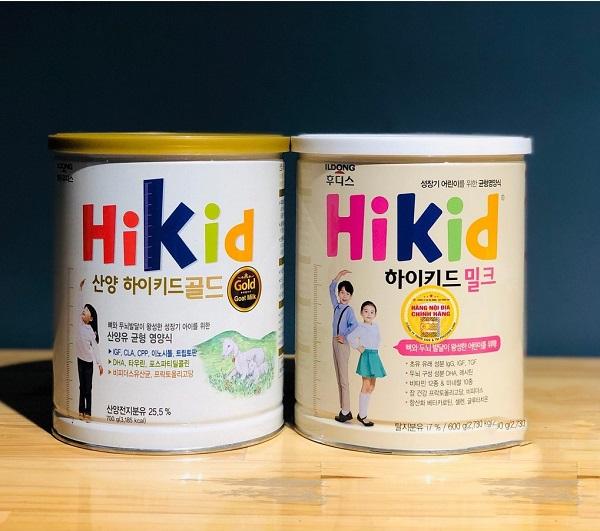 Sữa tăng chiều cao cho bé Hikid Gold Goat Milk