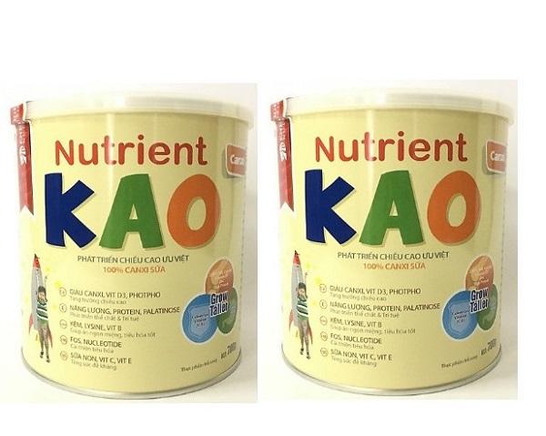 Sữa tăng chiều cao Nutrient KAO