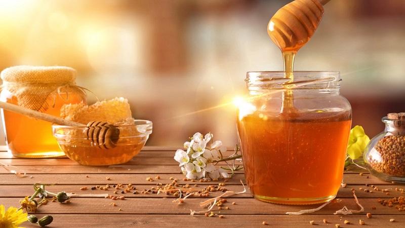 xóa mờ vết rạn da sau sinh với mật ong