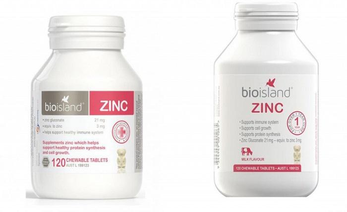 bổ sung kẽm cho bé BioCare Zinc