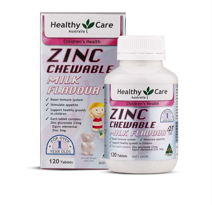 bổ sung kẽm cho bé Zinc Gluconate