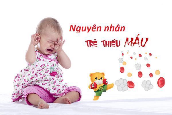 nguyên nhân thiếu máu ở trẻ em