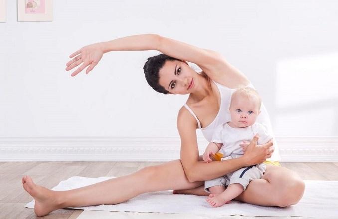 tập thể dục giúp chăm sóc da mặt sau sinh
